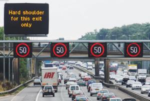 50 mph motorway restriction